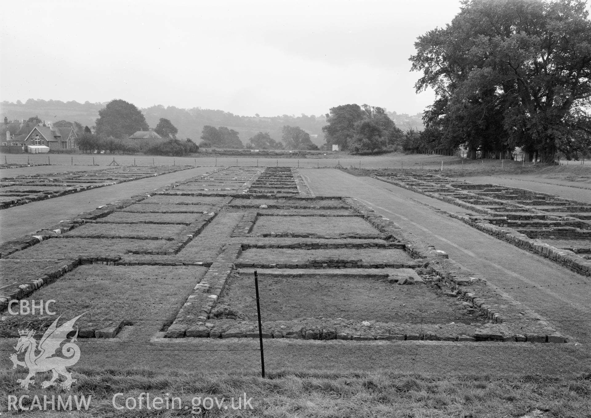 D.O.E photograph of Caerleon Prysg Field Barracks.