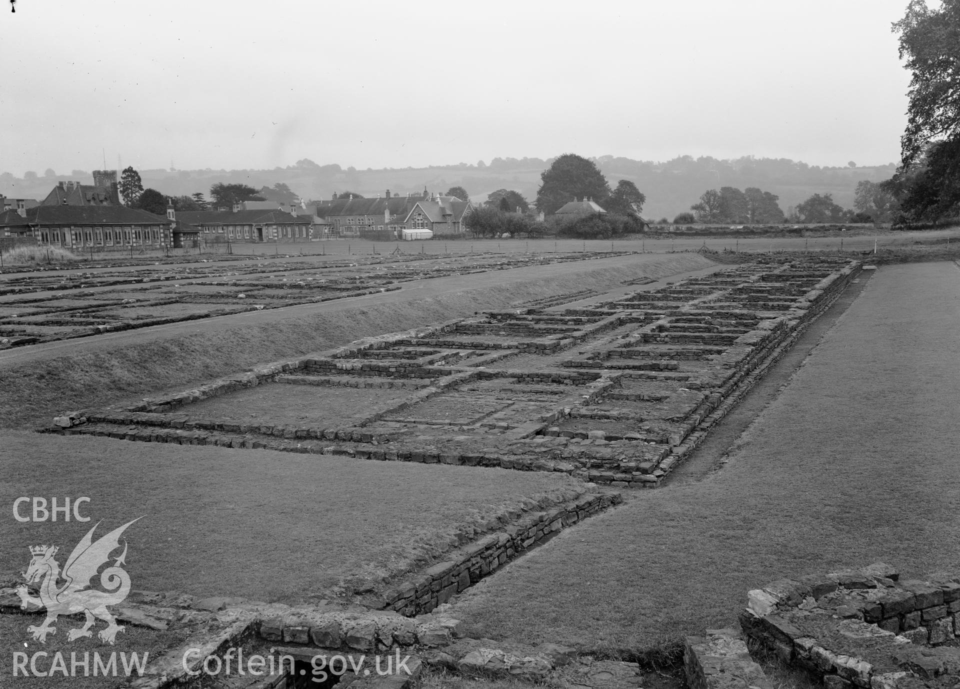 D.O.E photographs of Caerleon Prysg Field Barracks.
