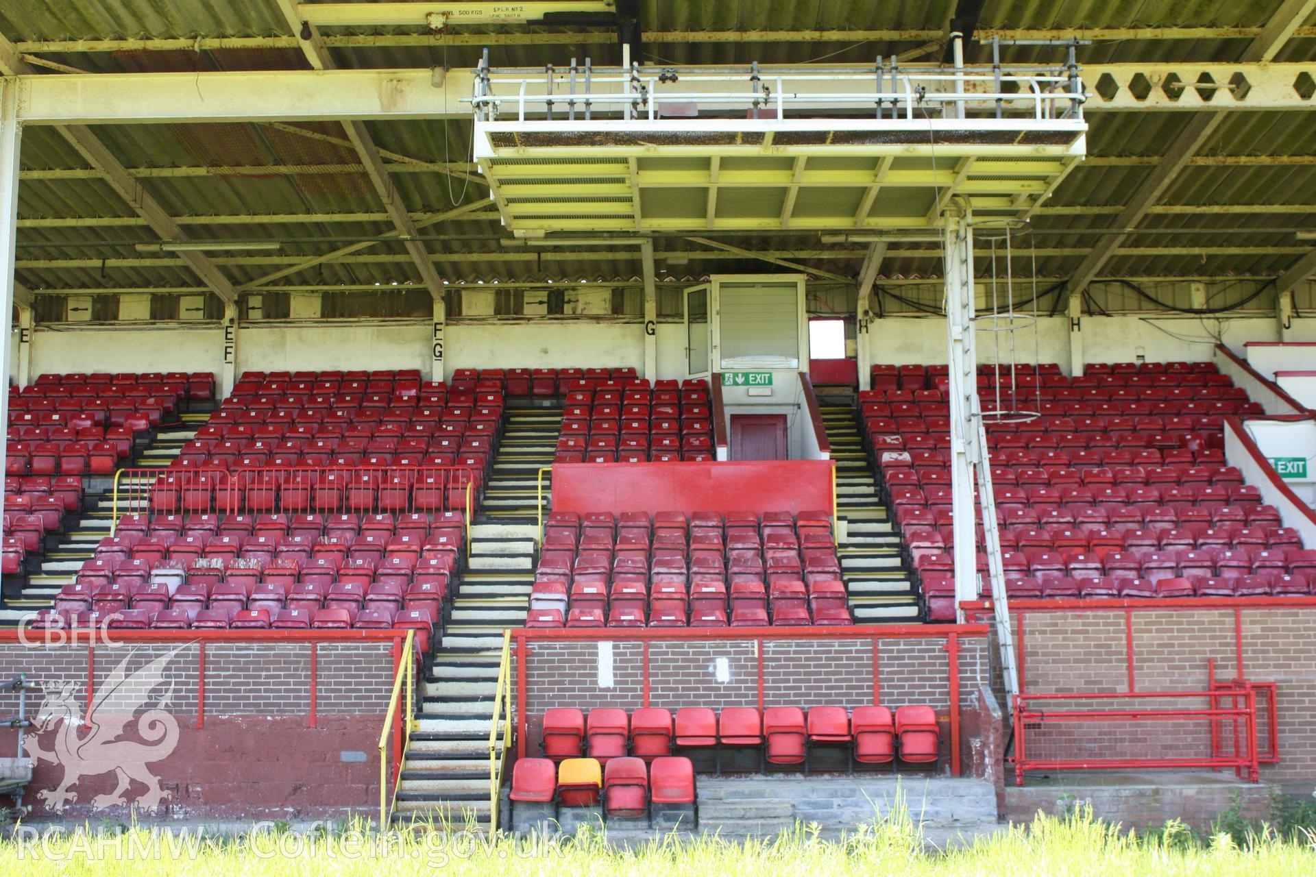 Grand (South) Stand, seating areas E-H