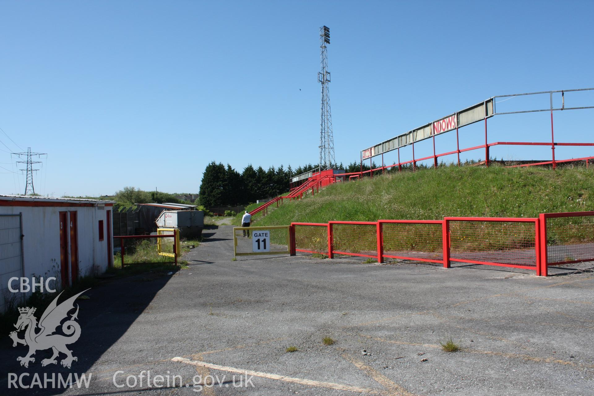 Turnstiles 3 & 4, gate 11 and rear of East Terrace